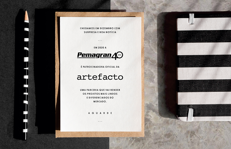 Parceria Pemagran + Artefacto